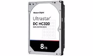 Picture of WD Ultrastar DC HC320 8TB SATA Hard Drive - 0B36404