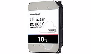 Picture of WD Ultrastar DC HC510 10TB SATA Hard Drive - 0F27452