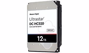 Picture of WD Ultrastar DC HC520 12TB 512e SAS Hard Drive - 0F29530