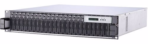 "Picture of RAID Machine 2.5"" 24-bay 16G  Fibre Channel SAN - S72244F & D72244F"