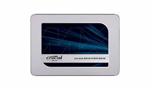 "Picture of Crucial®  CT1000MX500SSD1 1000GB  MX500  SATA 2.5"" SSD"