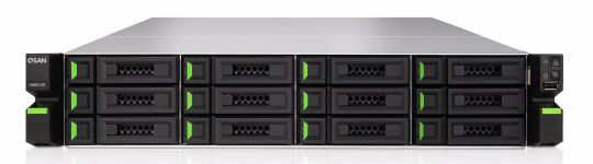 Picture of QSAN XCubeNAS 2U 12-Bay + 4 SSD  Unified Enterprise SAN & NAS - XN8012R