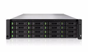 Picture of QSAN XCubeNAS 3U 16-Bay Unified Enterprise SAN & NAS - XN8016R
