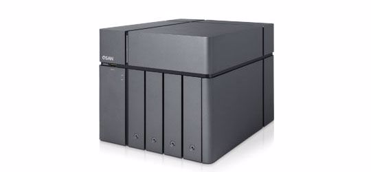 Picture of QSAN XCubeNAS 4-Bay + 1 SSD Tower Unified Enterprise SAN & NAS - XN5004T