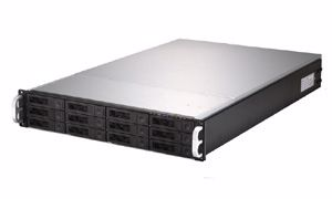 Picture of 2U 12-bay Dual CPU Rackmount Server w/500W PSU