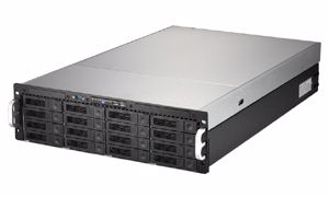 Picture of 3U 16-bay Dual CPU Rackmount Server w/650W PSU