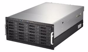 Picture of 5U 24-bay Rackmount Server, Intel Xeon based