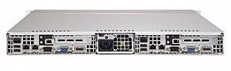 "Picture of 1U Dual Node Rackmount Server with 8 x 2.5"" Bays"