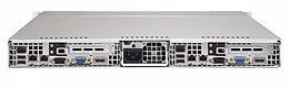 "Picture of 1U Dual Node Rackmount Server with 4 x 3.5"" Bays"