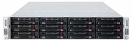 "Picture of 2U Rackmount Twin Server with 12 x 3.5"" Bays"