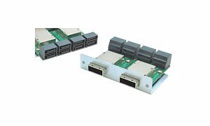 Picture of 8-port SFF-8088 miniSAS (host) to SAS/SATA 7pin (device) SAS Adapter