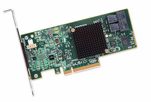 Picture of LSI SAS 9300-8I PCIe 3.0 12G HBA - LSI00344