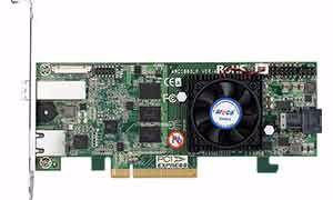 Picture of Areca ARC-1883LP 12G SAS RAID Controller Card