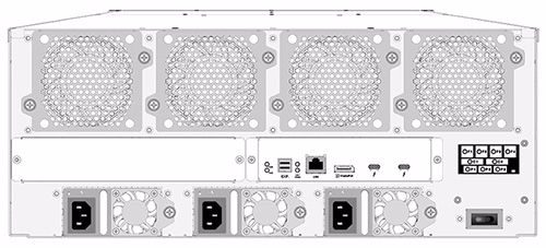 Picture of Areca ARC-8050T3-24R 24-Bay Thunderbolt 3 RAID Storage Rackmount