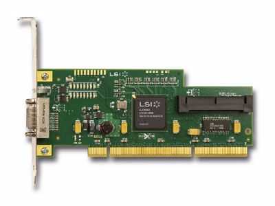 Picture of LSI 8 port PCI-X SAS Controller - SAS3442X-R
