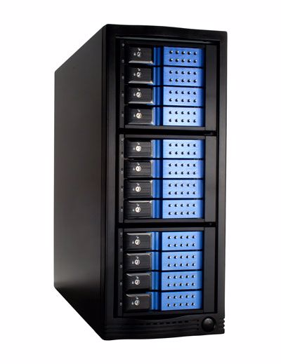 Picture of 12 bay 6G Trayless SAS Expander Enclosure