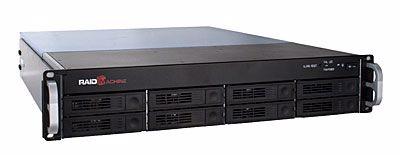 Picture of RAID Machine 2U 8 bay Hotswap 6G SAS / SATA JBOD Enclosure w/ Redundant PSU - R1208RM