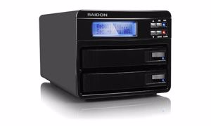 Picture of Raidon GR3630-SB3 2-bay USB 3.0 + eSATA