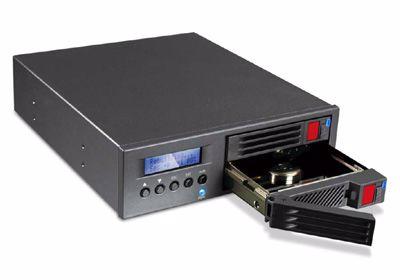 "Picture of RAIDON MR2020-2S-S2 2.5""x2 SATA, RAID1 w/LCD"