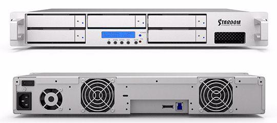 Picture of Stardom Deck DR5-SB3F 5-bay eSATA/USB3/Firewire 800 w/ RAID