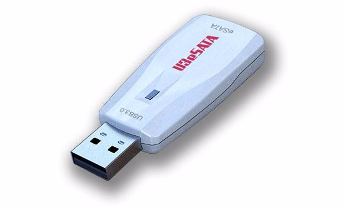 Picture of eSATA to USB 3.0 Adapter w/PM Support