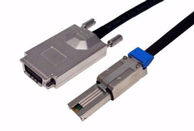 Picture of 0.5m SFF-8088 to SFF-8470 External SAS Cable
