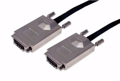 Picture of 0.5m SFF-8470 to SFF-8470 External SAS Cable