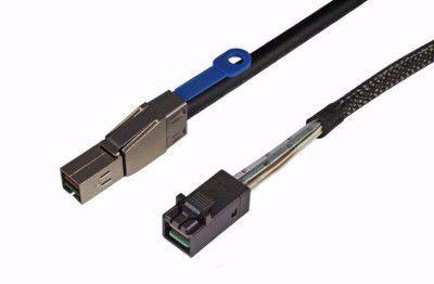 Picture of SFF-8644 HD Mini SAS to SFF-8643 HD Mini SAS cable