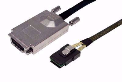 Picture of 1m SFF-8087 to SFF-8470 SAS Cable