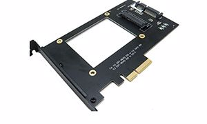 Picture of U.2 SFF-8639 NVMe SSD to PCI-e 4X Adapter