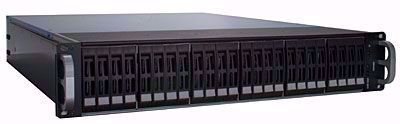 "Picture of RAID Machine 2.5"" 24-bay iSCSI + eSATA + USB3 SAN - I6224RM"