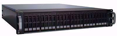 "Picture of RAID Machine 2.5"" 24-bay iSCSI + eSATA + USB3 SAN - I6224RM"