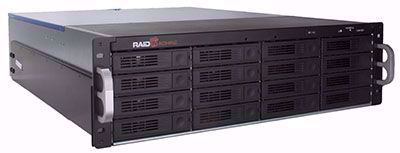 Picture of RAID Machine 16-bay iSCSI + eSATA + USB3 SAN - I6316RM