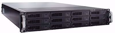 Picture of RAID Machine 12-bay iSCSI + eSATA + USB3 SAN - I6212RM