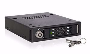 "Picture of ToughArmor MB601VK-B 2.5"" NVMe U.2 SSD Mobile Rack For External 3.5"" Drive Bay"