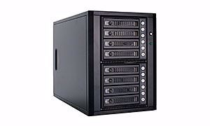 Picture of 8 Bay 6G SAS/SATA Tower JBOD w/Expander - E0806