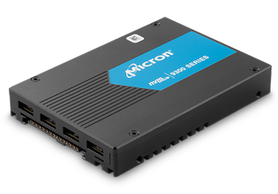 """Picture of Micron 9300PRO 15.35TB NVMe U.2  2.5"""" Enterprise SSD - MTFDHAL15T3TDP-1AT1ZABYY"""