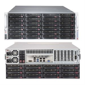 Picture of SuperMicro 4U 36-Bay Server SuperChassis - 847BE1C4-R1K23LPB