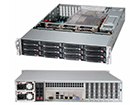 Picture of SuperMicro 2U 12-Bay Server SuperChassis - SC826BE1C4-R1K23LPB