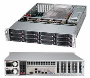 SuperMicro 2U 12-Bay Server SuperChassis - SC826BE1C4-R1K23LPB