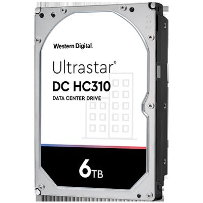 Picture of WD Ultrastar DC HC310 6TB SAS Hard Drive - 0B36047