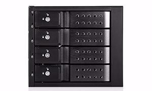 Picture of iStarUSA BPN-DE340MS-BLACK 12Gb/s SAS / SATA Drive Backplane
