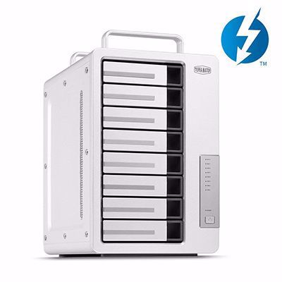 Picture of TerraMaster D8 Thunderbolt 3 Professional-Grade 8-Bay External Hard Drive Enclosure