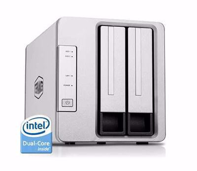 Picture of TerraMaster F2-221 2-Bay NAS for Small Business and Personal Cloud Storage