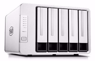 Picture of TerraMaster F5-221 5-Bay NAS for Small Business and Personal Cloud Storage