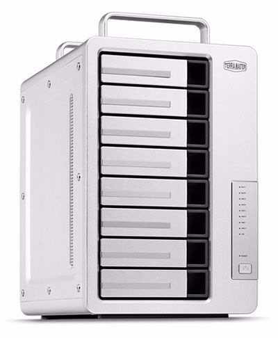 Picture of TerraMaster F8-421 8-Bay NAS for Small/Medium Business