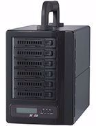 "Picture of Areca ARC-8050T3-6M 2.5"" 6-bay Thunderbolt 3 to 12Gb/s SAS RAID Tower"
