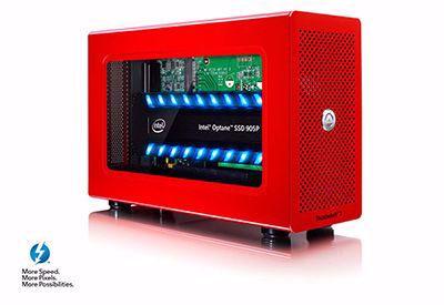 Picture of AKitIO Thunder3 Node Lite - single slot PCIe for TB3 *Special Edition* - T3NL-T3DIZ-AKTU