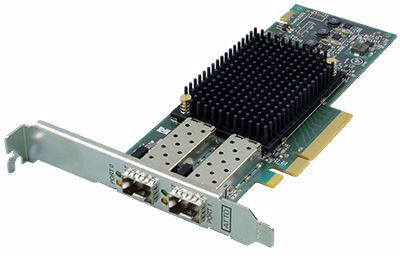 Picture of ATTO Celerity FC-162P 2-port 16Gb/s Fibre Channel HBA - CTFC-162P-000