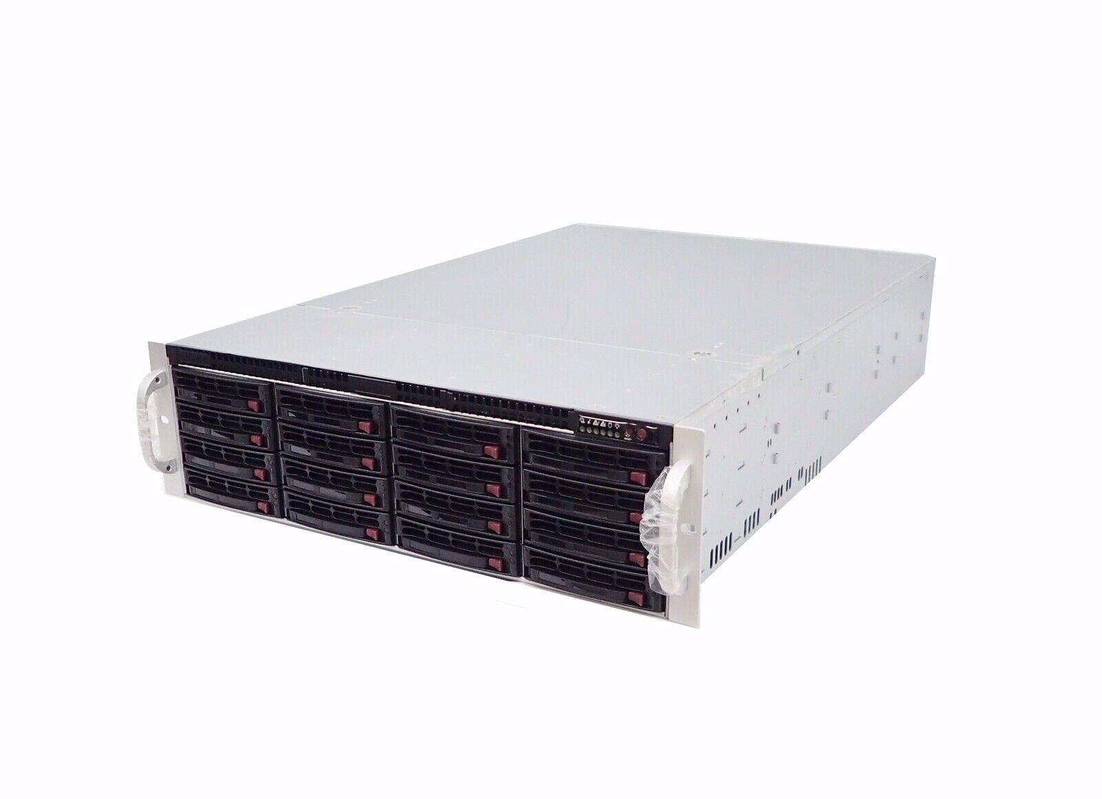 Picture of Supermicro 3U 16 bay 6G SAS/SATA JBOD Enclosure - CSE-836E16-R92JBD